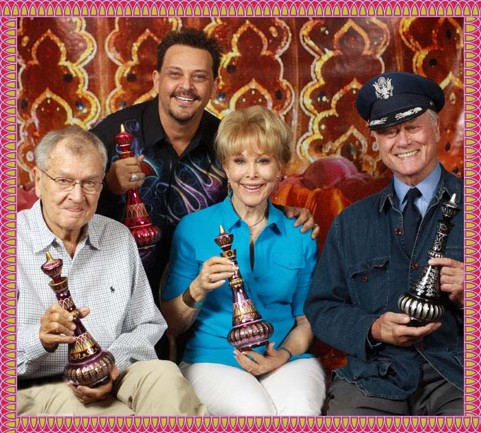 The Cast of I Dream of Jeannie and Mario Della Casa