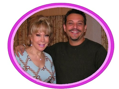 Barbara Eden and Mario