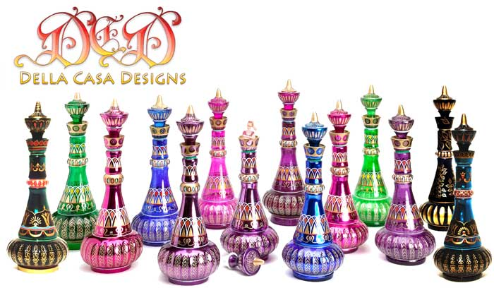 Mario Della Casa I Dream of Jeannie Bottles. JeannieBottles com   Genie Bottles